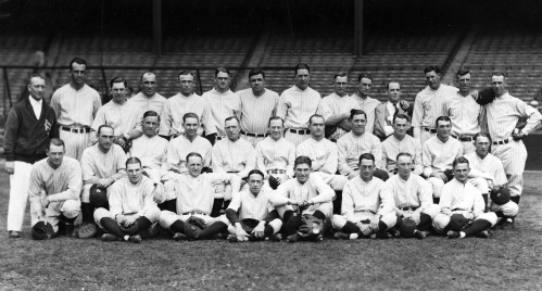 1926 New York Yankees Team