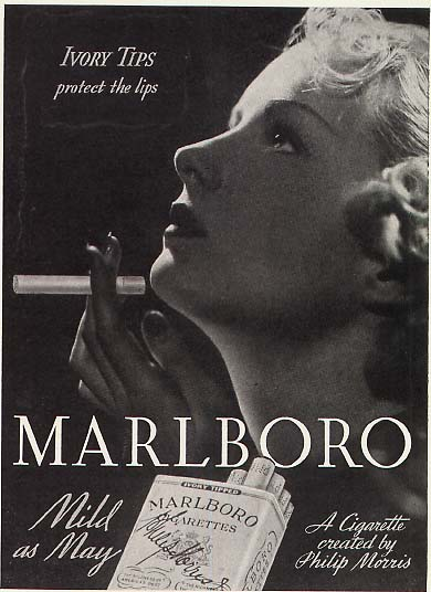 Marlboro ad Mild as May slogan (tawdryknickers-1.com)