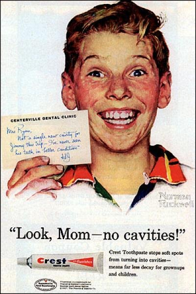Look mom, no cavities