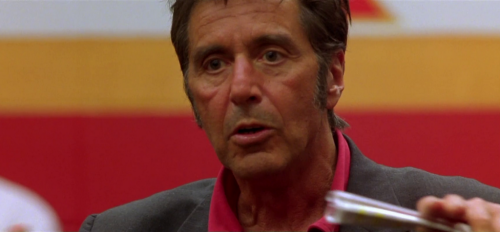 Al Pacino as Coach Tony D'Amato in Any Given Sunday