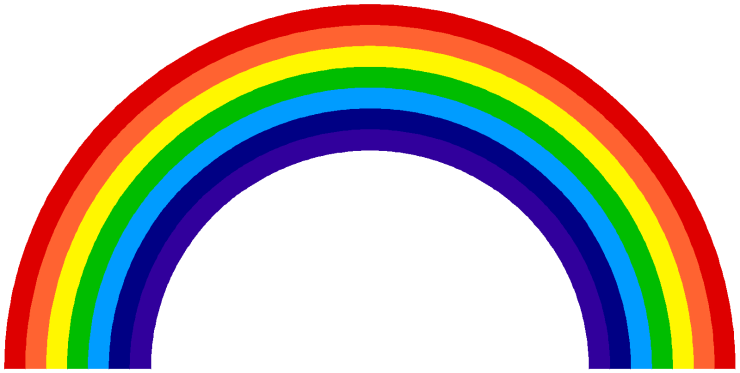 Image result for rainbow colour
