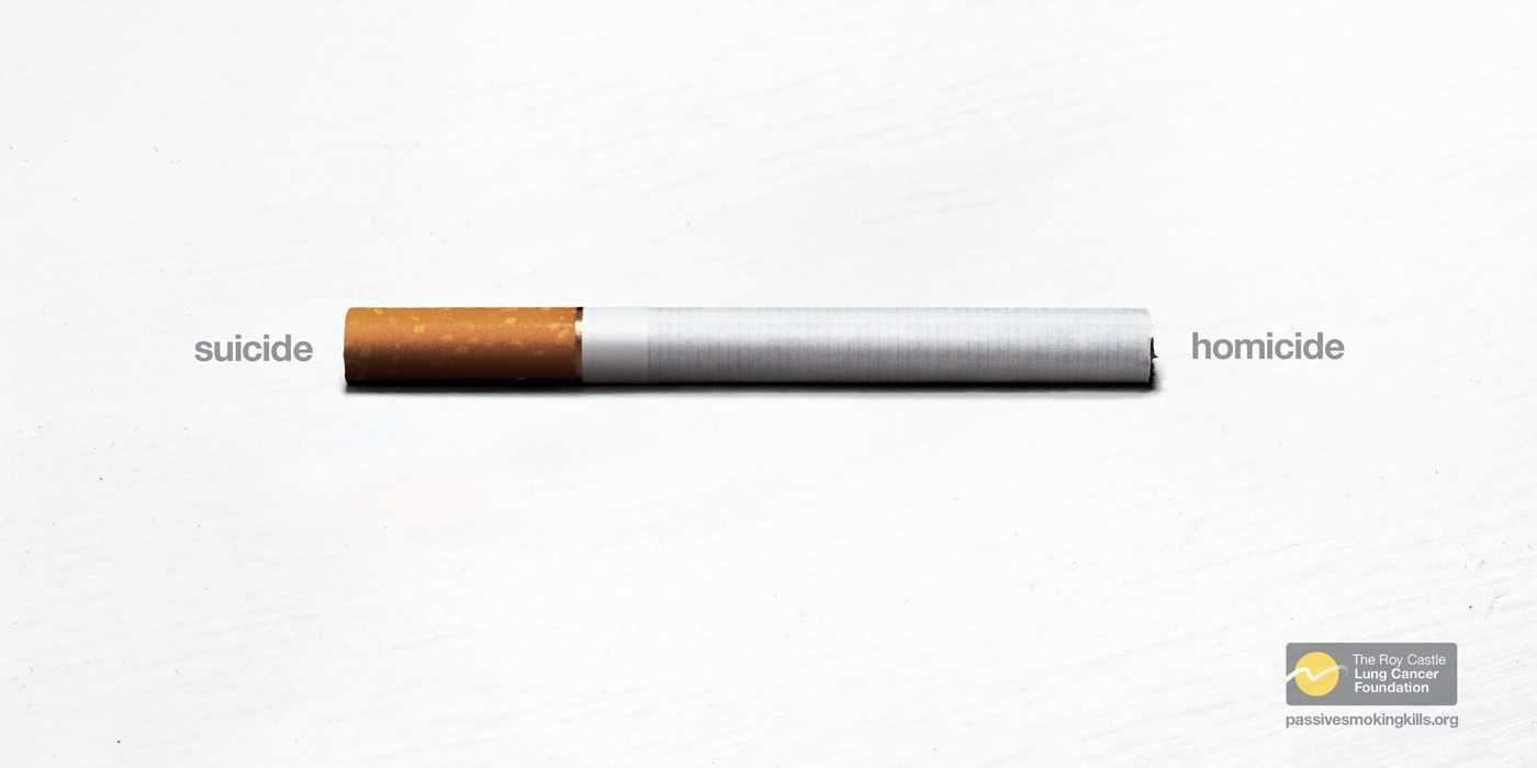 Advertisement No Smoking