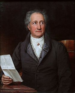 Johann Wolfgang von Goethe (28 August 1749 - 22 March 1832)